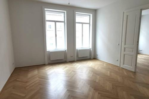 Generalsanierte großzügige 3-Zimmer Wohnung in der Neustiftgasse mit separater großer Küche und Garagenplatz optional - unbefristet