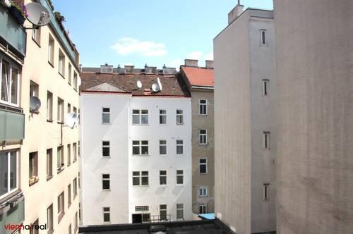 Ruhige 2-Zimmerwohnung mit Loggia, Hoforientierung und Zentralheizung