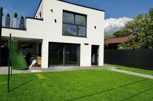 Neubau-Erstbezug: Haus mit Garten beim Lusthaus-Prater (Doppelhaushälfte), Top Ausführung, Fertigstellung Mai, 2 Geschoße + Wohnkeller, Nähe Hauptallee und Bus 77A-Lusthaus!