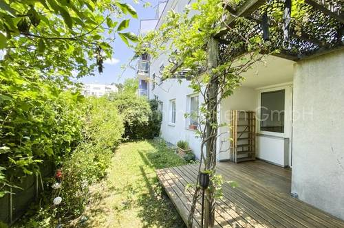4037 - Charmante Terrassenwohnung mit Garten