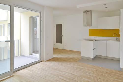 2-Zimmer-Wohnung mit Loggia UND Balkon direkt bei U3-Kendlerstraße! HOFSEITIG