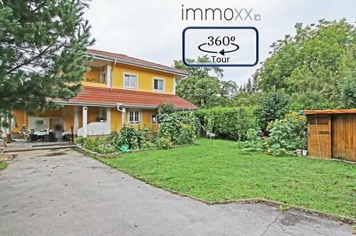 Modern gestaltetes Einfamilienhaus, 2 große Terrassen, Garten und Ausenpool!