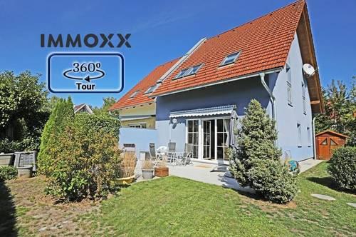 Gepflegte und sehr gut aufgeteilte Doppelhaushälfte mit 250m2 Grundstück und 2 PP in Hitzendorf nur wenige Minuten von Graz entfernt.