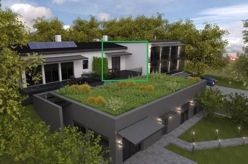 Luxuriöse Gartenwohnung