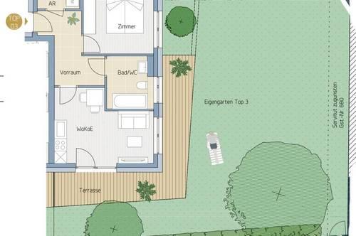 Gartenwohnung in Graz-Geidorf -Die clevere € Anlage