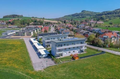 Mietkaufwohnung in Kirnberg - 3 Zimmer Familienwohnung mit Blick ins Grüne