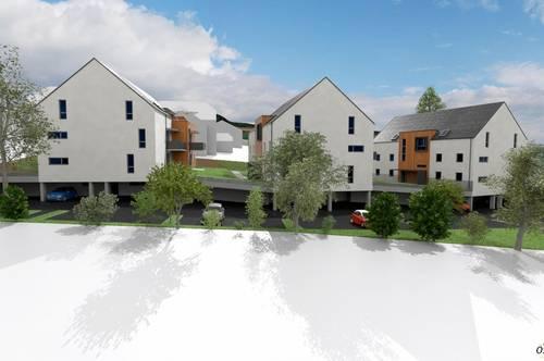 Geförderte 3-Zimmer Mietwohnung mit Garten und Kaufoption in Behamberg