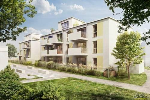 Neubau – Erstbezug – Provisionsfrei – herrliche 3 Zimmerwohnung in Bad Vöslau