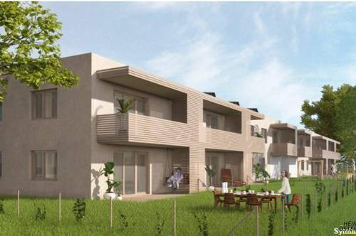 Wieselburg - schöne geförderte 3 Zimmer Wohnung mit herrlichem Garten (Top 1/3)