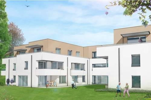 Betreutes Wohnen in Kirchstetten – ostseitig ausgerichtete Terrassenwohnung