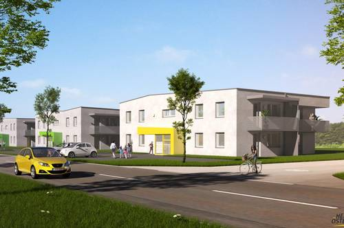 Naturnah leben und stadtnah wohnen - herrliche 3 Zimmerwohnung in Wieselburg Land
