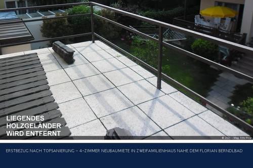 Korneuburg - TOPSANIERTE 2-ZIMMER TERRASSENMIETE IN ZWEIFAMILIENHAUS