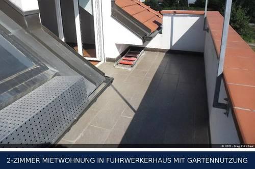 Himberg - EXTRAVAGANTE 3-ZIMMER DACHTERRASSENMIETE MIT GARTENUTZUNG UND SCHWIMMBIOTOP