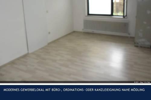 Biedermannsdorf - MODERNES GEWERBELOKAL MIT BÜRO-, ORDINATIONS- ODER KANZLEIEIGNUNG NAHE MÖDLING