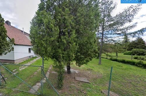 Baurechtsgrundstück mit altem Siedlungshaus in U2 Nähe