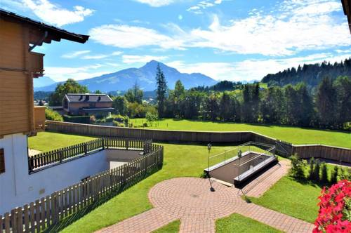 Exklusive 3 Zimmer Penthouse Wohnung mit Panoramablick auf das Kitzbüheler Horn und Wilder Kaiser