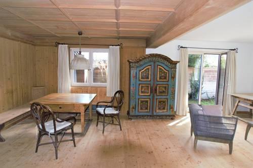 Sehr schöne 4 Zimmer Gartenwohnung mit Blick auf das Kitzbüheler Horn und Wilder Kaiser