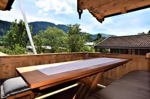 4 Zimmer Wohnung mit Ausblick auf den Wilden Kaiser und Kitzbüheler Horn