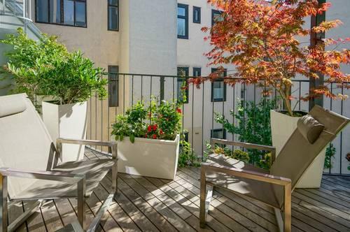 Wunderschöne Dachgeschosswohnung ohne Schrägen mit Terrasse!