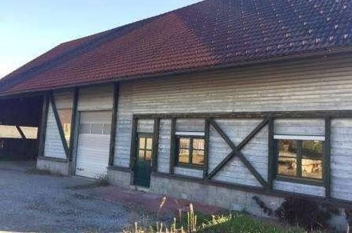 Deutschlandsberg: Werkshalle mit Büro- und Lagerräumlichkeiten in sehr guter, zentraler Lage.
