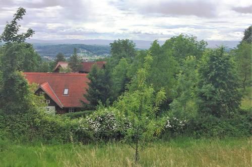 Deutschlandsberg: Baugrund in sehr schöner Aussichtslage