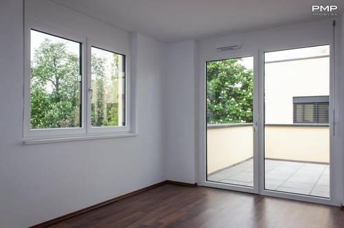 Helle 3-Zimmer Wohnung im Zentrum, sonnige Terrasse mit Parkblick