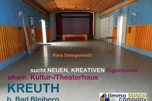 Preisreduktion! Kunstschaffende und Anleger aufgepasst! Altes, renovierungsbedürftiges Kultur-/Theaterhaus zu verkaufen!