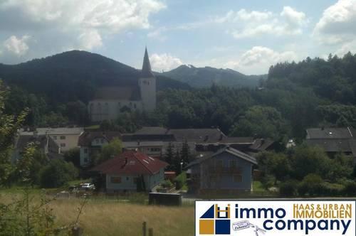 Baugrund in Kaumberg - südseitige Lage