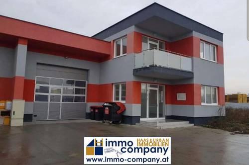 Büro mit 157,8m² und Lagerhalle mit 215,2m² - ab sofort zu Mieten in Günseldorf