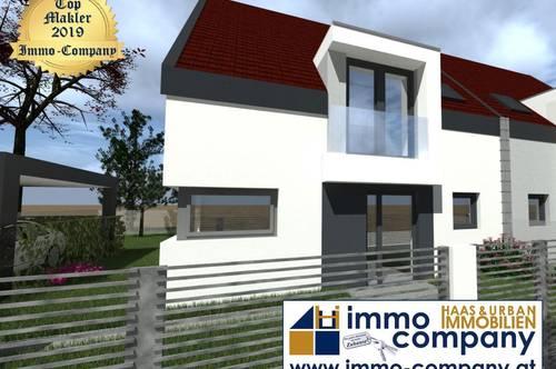 Platz für die ganze Familie - 149 m² *Neubau Belagsfertig Ausstattung * - Doppelhaushälfte – Erstbezug – Nordburgenland-Eisenstadt 4 km entfernt⚡ TOPWERTIG AUSSTATTUNG ⚡