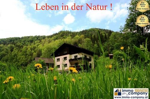 *** Schwarzau im Gebirge *** ALLEINLAGE nähe Rax und Schneeberg – am Eingang zum Höllental