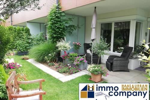 Koffer packen und sofort einziehen! Eigentumswohnung mit kleinem Gartenparadis!