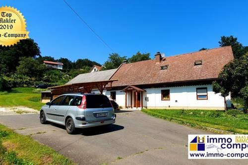 Wunderschönes Einfamilienhaus - mitten im Grünen, mitten in Jennersdorf ca. 120m² WNfl, ca. 6428m² Grund – Kaufpreis 145.000 Euro!