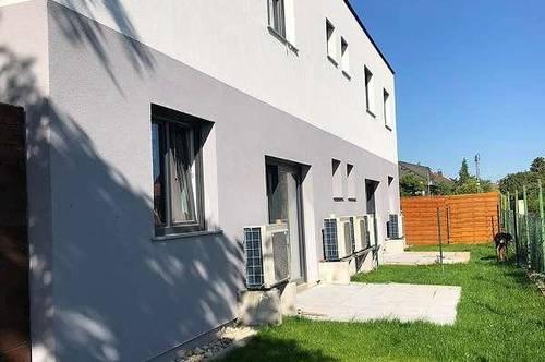 Kauf oder Miete - ERSTBEZUG Doppelhaushälfte in heimeliger Siedlung im SPECKGÜRTEL Wiens mit VIEL PLATZ