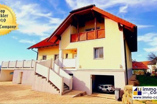 Großzügiges Einfamilienhaus, top gepflegt, mit Fernblick, ruhig gelegen, keine 8 Minuten von der Autobahn - Nähe Markt Allhau!