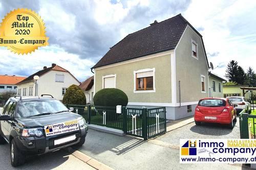 Wir sind exklusiv mit der Vermarktung dieser Immobilie beauftragt! Wunderschönes Einfamilienhaus in Rudersdorf, 2 Wohneinheiten – Ortsrandlage, grün rund ruhig gelegen, ca. 140m² WNfl, ca. 943m² Grund – Kaufpreis 258.000 Euro!