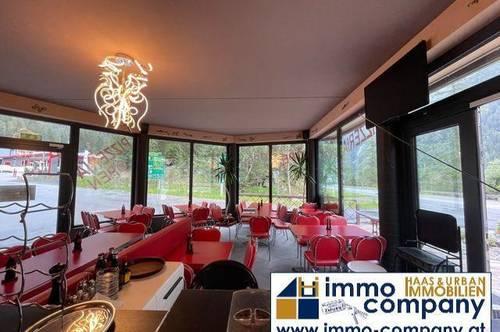 Umhausen/Ötztal: Voll ausgestattetes Restaurant in Toplage, 60 Sitzplätze sowie weitere 30-60 Sitzplätze auf der Terrasse, Sofortbezug