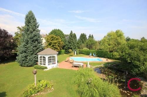 Interessante Liegenschaft mit Altbauvilla, Swimmingpool und traumhaftem Garten in bevorzugter Lage