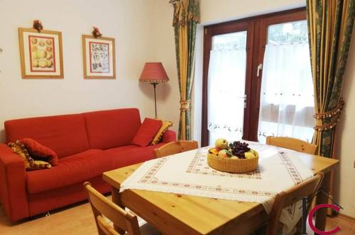 Reizendes 2-Zimmer-Appartament mit großer Terrassenfläche und Parkplatz