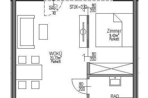 Neubau-Kleinwohnung in zentrumsnaher Lage