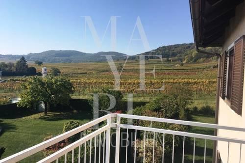 Einfamilienhaus mit großartigem Blick über die Weingärten