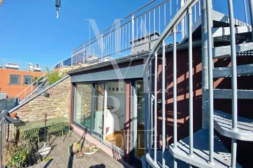 Dachterrassen Maisonette + 1 Zimmer Garten-Wohnung