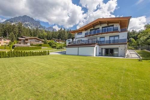 Neubau-Villa in sonniger Ruhelage