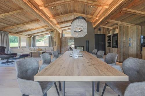 Exklusives Chalet in Toplage