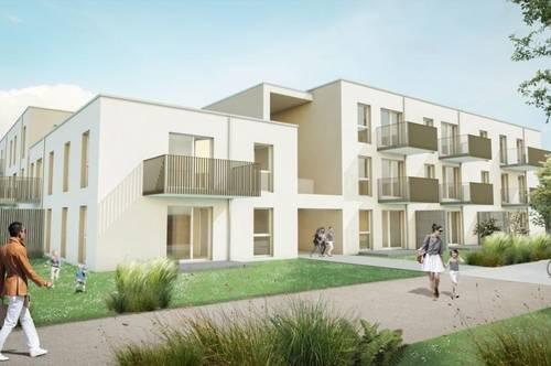 3 Zimmer Wohnung mit großem Balkon