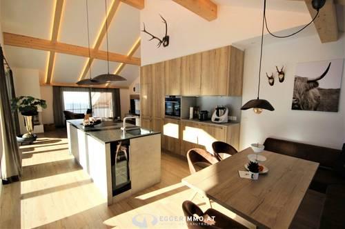 5753 Saalbach / Hinterglemm: Wohnen geht kaum schöner !! Exklusive Penthousewohnung 138m² Whnfl. , 80m² Terrasse, Weitblick ! 2 Tiefgaragenstellplätze !