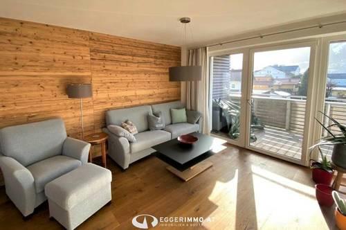 5760 Saalfelden: die Gelegenheit: neuwertige 3 Zimmerwohnung mit 96 m² Wfl, Ruhelage, Weitblick, Tiefgaragenstellplatz,vollmöbliert !!