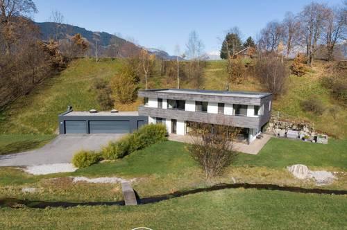 Moderne Villa in Traumlage mit unverbaubarem Grün - und Bergblick auf die Hohen Tauern zu verkaufen
