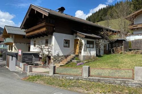 5752 Viehhofen: MIETE : gemütliches, gepflegtes, Einfamilienhaus mit Eigengarten, Garage, 6 Zimmer, ideal auch als Personalhaus, genügend Parkplätze !!