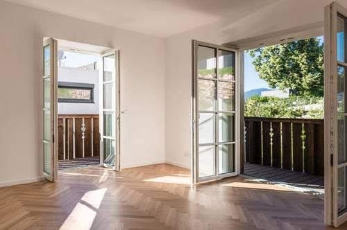 Hötting - Erstbezug: provisionsfreie 2-Zimmer-Wohnung mit Balkon